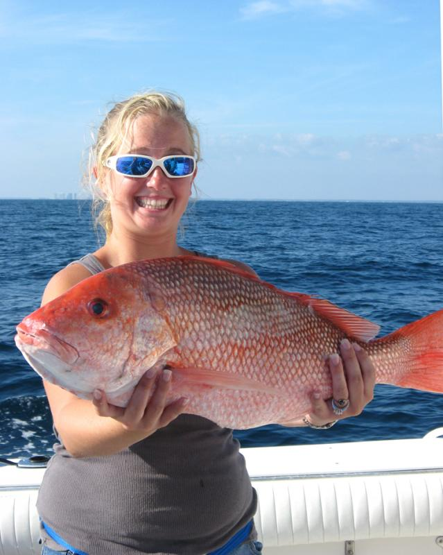 Click to enlarge image ANNA AND BBBIGGG SNAPPER - Anna -
